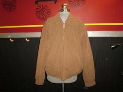London Fog men's Large brown light weight jacket. NWOT  Exce