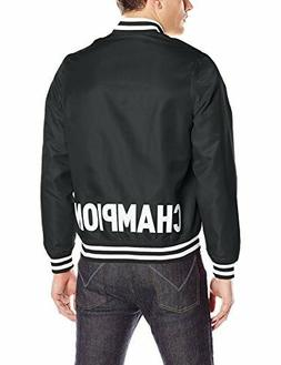 Men's Champion LIFE Satin Jacket BLACK supreme sz X-Large XX