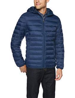 men s lightweight water resistant packable hooded