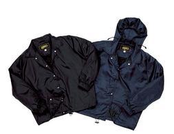 Men's Lined Hooded Windbreaker Jacket