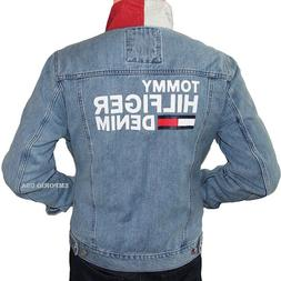 new style top-rated genuine selected material TOMMY HILFIGER Men's Logo Denim Trucker ...