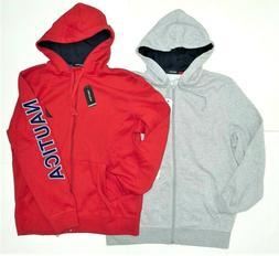 Nautica Men's Long Sleeve Full Zip Front Fleece Jacket