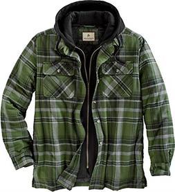 Legendary Whitetails Men's Maplewood Hooded Shirt Jacket Arm