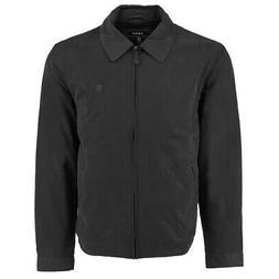 IZOD Men's Microfiber Golf Jacket Black XL
