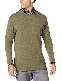 Duofold Men's Mid Weight Double Layer Thermal Shirt, Olive H