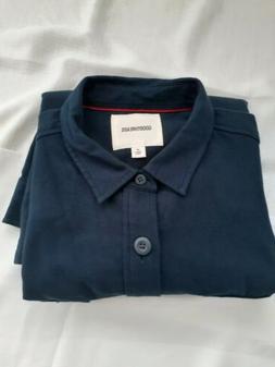 Goodthreads Men's Military Broken Twill Shirt Jacket