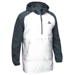 adidas Men's Modern Varsity Anorak Quarter Zip Jacket Hooded