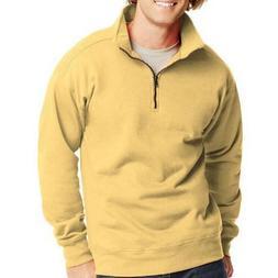 Hanes Men's Nano Premium Soft 1/4 Zip Lightweight Fleece Jac