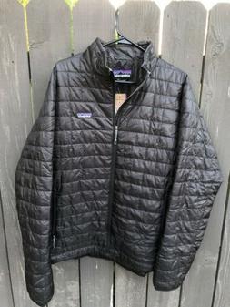 Patagonia Men's Nano Puff® Jacket Black Large New NWT