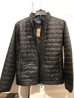 Patagonia Men's Nano Puff Jacket Black NWT Men's size Medium