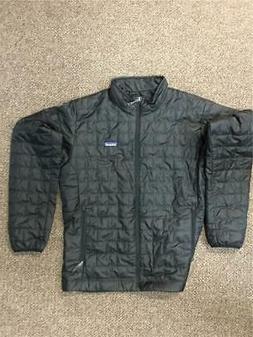PATAGONIA Men's NANO Puff JACKET Brand NEW Large BLACK 84212