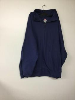 Hanes Men's Nano Quarter Zip Fleece Jacket Vintage Vintage N