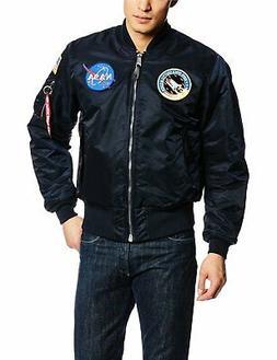 Alpha Industries Men's NASA MA-1 Bomber Flight Jacket - Choo