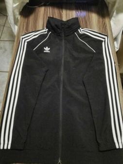 MEN'S ADIDAS Originals SST Windbreaker Jacket Black Size Med