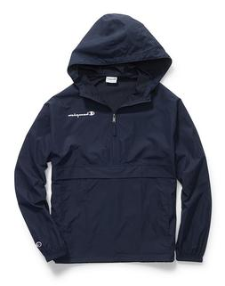 CHAMPION MEN'S PACKABLE JACKET- LARGE - NAVY - NWOT