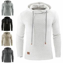 Men's Premium Athletic Soft Sherpa Lined Fleece UP Hoodie Co