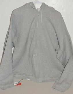 men s premium grey heather zip up
