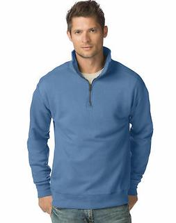 Hanes Men?s Pullover Nano Premium Lightweight Quarter Zip Ja