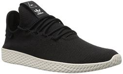 adidas Originals Men's PW Tennis HU Running Shoe, Black/Chal