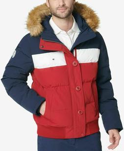 Tommy Hilfiger Men's Quilted Arctic Cloth Snorkel Bomber Jac