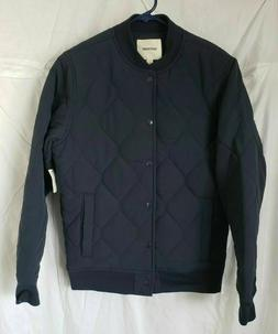 Goodthreads Men's Quilted Liner Jacket, Navy, Small