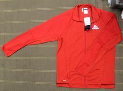 Adidas Men's Red Tiro 17 Track Jacket  BQ8196