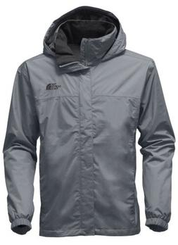 The North Face Men's Resolve 2 Rain Jacket Large Mid Grey MS