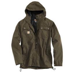 Carhartt Men's Rockford Rain Defender Jacket Size M Lightwei