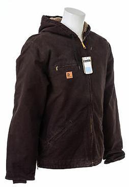CARHARTT Men's Sandstone Sherpa Lined Sierra Jacket