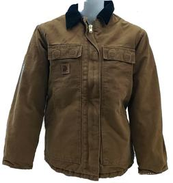 Carhartt Men's Sandstone Traditional Arctic Lined Coat - C26