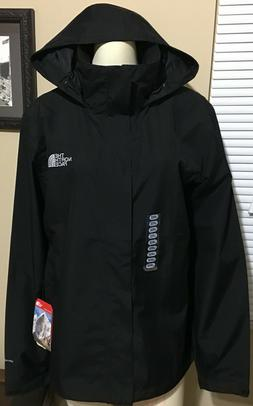 THE NORTH FACE Men's Sangro Rain Trail JACKET Lg. Black TOA3