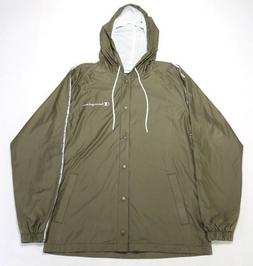 CHAMPION Men's SATIN JACKET V9656549736PMG MISSION GREEN