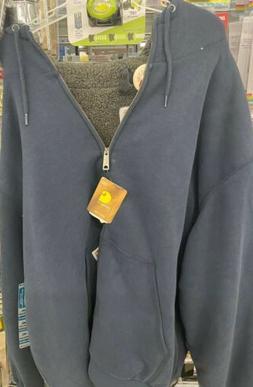 Carhartt Men's Sherpa Lined Blue  Sierra Jacket 4xl NWT