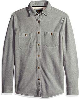 men s shirt jacket arturo heather grey