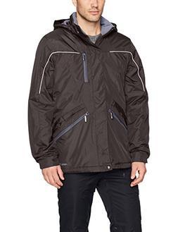 Men's Slope Insulated Winter Jacket, X-Large, Black