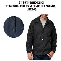 Dickies Men's Snapped Front Lined Windbreaker Nylon Jacket