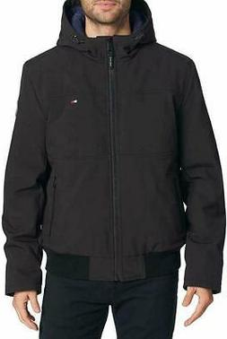 Tommy Hilfiger Men's Hooded Winter Soft Shell Insulted Jacke