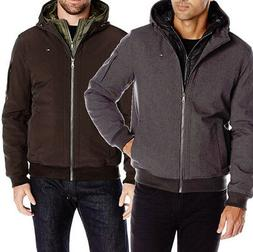 Tommy Hilfiger Men's Soft Shell Fashion Bomber with Contrast