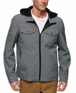 Men's Soft Shell Hooded Trucker Jacket by Levi's Red Label