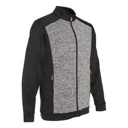 adidas Men's Space Dyed Colorblock Full-Zip Jacket