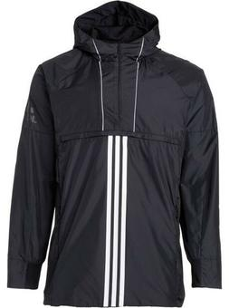 Adidas Men's Sport ID Training Anorak Hooded Pullover Jacket