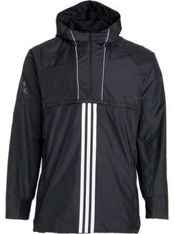 Adidas Men's Sport ID Training Anorak Hooded Pullover Jacket