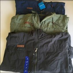 COLUMBIA Men's Sportswear RAIN JACKET Windbreaker Size%Color