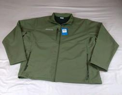 Columbia Men's Sz 3XL Ascender Softshell Jacket Army Fatigue