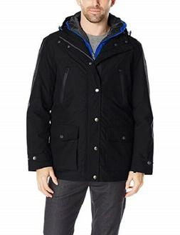 London Fog Men's Tall Brookings Anorak 3 In 1 System Jacket,