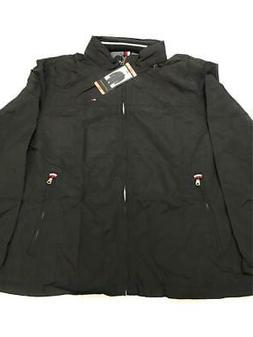 Tommy Hilfiger Men's Taslan Nylon Jacket Mens/XXL/ BLACK