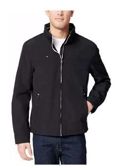 Tommy Hilfiger Men's Taslan Nylon Windbreaker Jacket with Hi