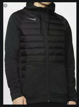 Nike Men's Therma Full-Zip Winterized Training Hoodie Jacket