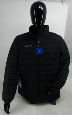 Columbia Men's Thermal Coil Black Water Resistant Puffer Jac