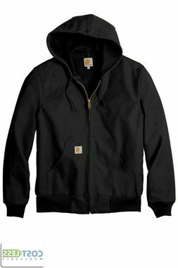 Carhartt Men's Thermal Lined Duck Active Jacket Coat Winter